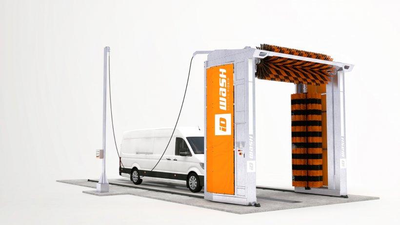 portique de lavage poids lourd autocar utilitaires et. Black Bedroom Furniture Sets. Home Design Ideas